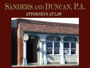 Sanders and Duncan P.A.